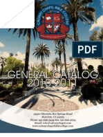 CCBC General Catalog 2011-2012