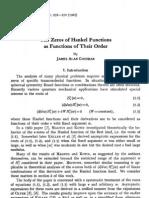 The Zeros of Hankel Functions