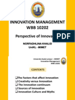 Chapter 1 Innovation Management