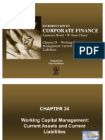 Chapter 24 - Working Capital Management - Current Assets and Current Liabilities