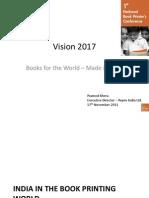 Book Printing Industry Vision 2017