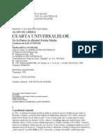 Alain de Libera - Cearta Universaliilor
