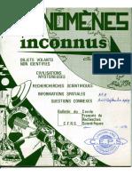 Phénomènes Inconnus - n°9 - Aout-Septembre 1969