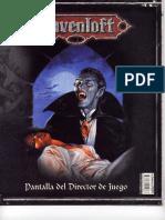 D&D 3.0 - Ravenloft Pantalla Del Director