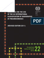 Guidelines for Use of the ILO Inernational Classification Od Radio Graphs of Pneumoconioses