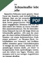 """Immobilienzeitung """"Mit dem Echtzeitraffer lebt die Baustelle"""""""