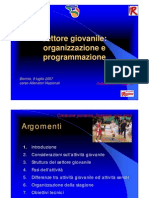Andreamenozzi Programmazione Settore Giovanile 9luglio07 CNA AllNazionalebormio
