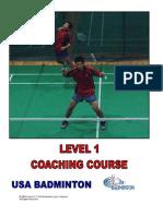 USAB Coaching L1