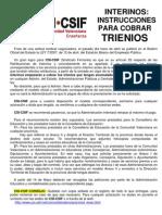 20070424_Instrucciones_CobroTrienios_Interinos