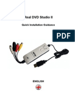 Manual de Usuario Real DVD Studio II (English)
