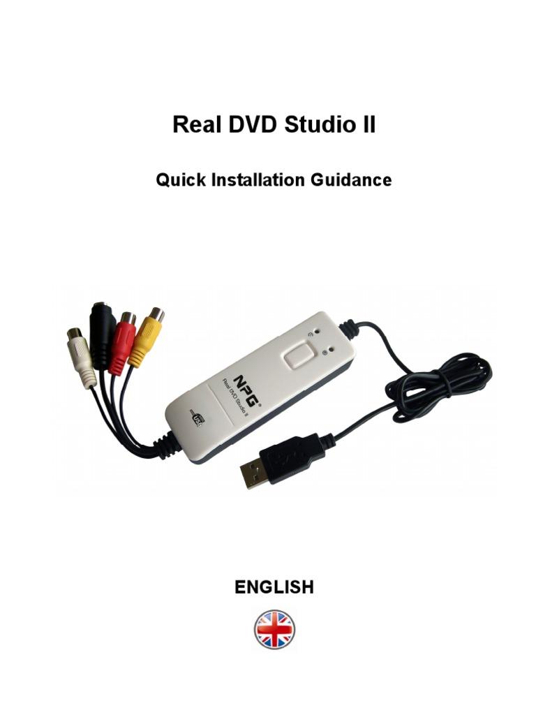 Descargar driver npg real dvd studio iii