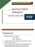 Sesi 2-Epidemiologi Dalam Bidang k3
