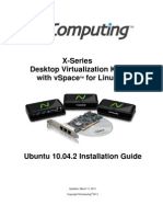 Ubuntu 10.04.2 X-Series Install Guide Mar11 2011