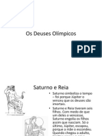 Os Deuses Olímpicos