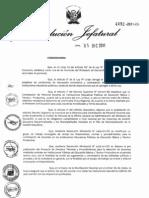 Directiva de Contrato Docente 2012