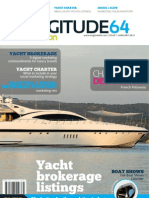 Longitude 64 MotorYachts Edition magazine January 2012 issue - Luxury Yacht Brokerage and Yacht Charter
