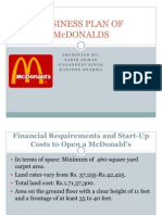 Business Plan of Mcdonalds