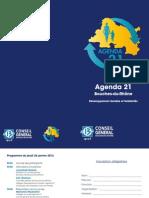Programme Agenda 21 Conseil Général des Bouches-du-Rhone