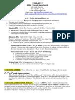 2011 BMS Choral Handbook