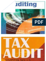 Auditing - Tax Audit Ppt
