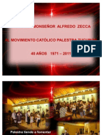 PALESTRA TUCUMAN - Visita Obispo - 40 Años