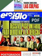 El Siglo, nº 1537, diciembre 2010