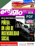 El Siglo, nº 1539, diciembre-enero 2011