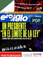 El Siglo, nº 1540, enero 2011