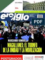 El Siglo, nº 1542, enero 2011