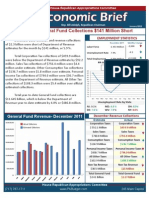 January 2012 Economic Brief