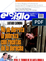 El Siglo, nº 1554, abril 2011