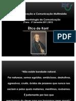Ética de Kant apresentação