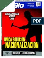 El Siglo, nº 1585, noviembre 2011