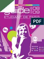 Guide pour les  étudiant de paris 2008-09