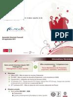 Integra - AG France IX Septembre 2011