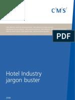 Hotels Jargon Brochure