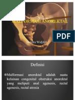 malformasi anorektal