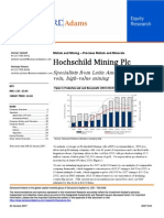 Broker Note, Hochschild Mining, 23/01/2007 (Cannacord Adams)