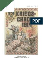 ILLUSTRIERTE KRIEGS-CHRONIK 1914