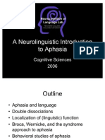 A Neurolinguistic Introduction to Aphasia