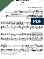 56576291 Castelnuovo Tedesco M Sonatina Op 205 Flauta y Guitarra