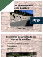 1233851856 Muros de Gravidade e de Gabioes