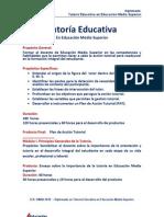Programa Curricular Diplomado Tutoría Educativa Descriptivo