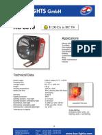 KS8610 ATEX LAMP