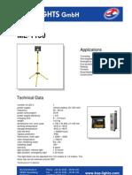 ML1130 Datasheet LED Floodlight