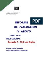 Informe de Evaluacion Original