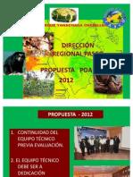 Propuesta Para El 2012[1]