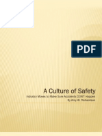A Culture of Safety