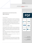 GP Bullhound Research - Water Sector Report - November 2011 (2)