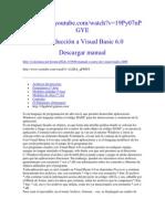Introducción a Visual Basic 6